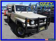 1985 Toyota Landcruiser HJ75RP (4x4) Beige Manual 5sp M Cab Chassis for Sale