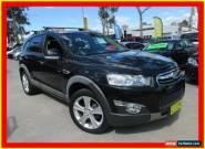 2012 Holden Captiva CG Series II 7 LX Black Automatic A Wagon for Sale