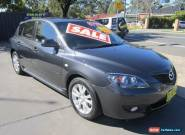 2007 Mazda 3 BK MY06 Upgrade Maxx Sport Grey Manual 5sp M Hatchback for Sale