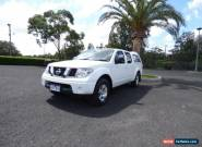 2010 Nissan Navara D40 RX White Manual 6sp M Utility for Sale