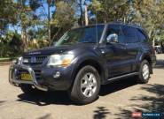 2006 Mitsubishi Pajero NP MY06 Exceed LWB (4x4) Grey Automatic 5sp A Wagon for Sale