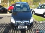 2009 VAUXHALL ZAFIRA EXCLUSIV BLACK for Sale