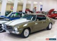 1972 Holden Monaro HQ GTS Automatic 3sp A Coupe for Sale