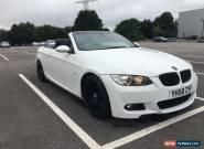 BMW E93 320d M Sport 2dr Convertible White LCI P/X for Sale