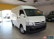 2008 Toyota Hiace MY08 KDH221R White Manual M Van for Sale