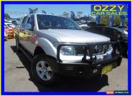 2006 Nissan Navara D40 ST-X (4x4) Silver Manual 6sp M Dual Cab Pick-up for Sale