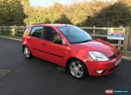 Ford Fiesta 1.4 Zetec LOW MILEAGE, LONG MOT!!! for Sale