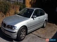2003 BMW 320I SE AUTO SILVER for Sale