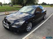 2007 BMW 520D M SPORT AUTO BLACK for Sale