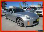 2008 Nissan 350Z Z33 MY07 Touring Silver Automatic 5sp A Coupe for Sale
