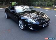 2012 Jaguar XKR X150 MY10 5.0 SC V8 Black Amethyst Automatic 6sp A Coupe for Sale