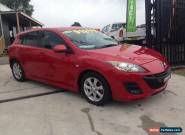 2009 Mazda 3 BK MY08 Maxx Sport Red Automatic 4sp A Hatchback for Sale