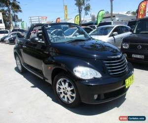 Classic 2007 Chrysler PT Cruiser PG MY2007 Limited Black Automatic 4sp A Convertible for Sale