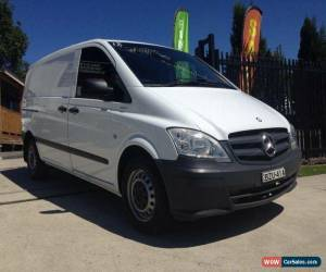 Classic 2011 Mercedes-Benz Vito MY11 110CDI White Manual 6sp M Van for Sale