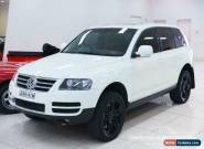 2006 Volkswagen Touareg 7L MY07 V10 TDI White Automatic 6sp A Wagon for Sale