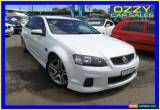Classic 2012 Holden Commodore VE II MY12 SV6 White Automatic 6sp A Sedan for Sale