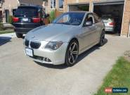 2005 BMW 6-Series Sports Package for Sale