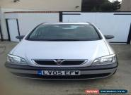 2005 VAUXHALL 1.6  ZAFIRA LIFE SILVER  for Sale