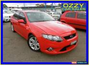 2009 Ford Falcon FG XR6 Red Automatic 5sp A Sedan for Sale