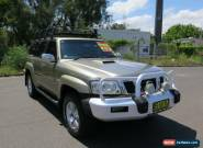 2006 Nissan Patrol GU IV MY06 TI Gold Automatic 4sp A Wagon for Sale