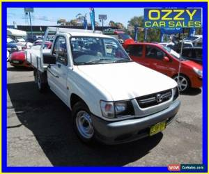Classic 2004 Toyota Hilux RZN149R Workmate White Manual 5sp M Cab Chassis for Sale