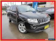 2012 Jeep Compass MK MY12 Limited Black Automatic 6sp A Wagon for Sale