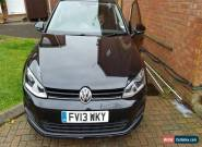 2013 MK7 Volkswagen Golf 1.6Tdi  47000 fsh bargain, 4 brand  new tyres,2 owners for Sale