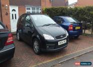 2004 FORD FOCUS C-MAX GHIA BLACK for Sale