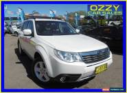 2010 Subaru Forester MY10 XS Premium White Automatic 4sp A Wagon for Sale