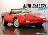 1992 Chevrolet Corvette Base Convertible 2-Door for Sale