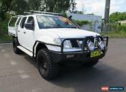 2010 Nissan Navara D40 RX White Manual 6sp M 4D UTILITY for Sale