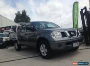 2011 Nissan Navara D40 MY11 RX (4x4) Grey Automatic 5sp A Dual Cab Pick-up for Sale