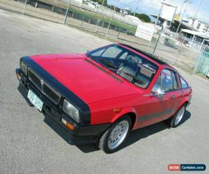 Classic 1978 Lancia Beta MONTE-CARLO Red Manual 5sp M Coupe for Sale
