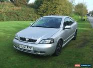 2003 VAUXHALL ASTRA 16V BERTONE SILVER for Sale