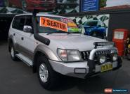 1999 Toyota Landcruiser Prado VZJ95R GXL (4x4) Silver Automatic 4sp A Wagon for Sale