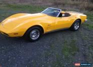 1973 Chevrolet Corvette Base Convertible 2-Door for Sale