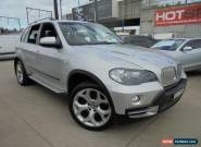 2008 BMW X5 E70 MY09 xDrive48i Silver Automatic A Wagon for Sale