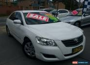 2006 Toyota Aurion GSV40R AT-X White Automatic 6sp A Sedan for Sale