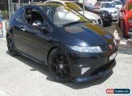 2007 Honda Civic 30 Type R Black Manual 6sp M Hatchback for Sale