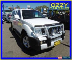 Classic 2008 Nissan Navara D40 ST-X (4x4) White Automatic 5sp A Kingcab for Sale