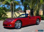 2008 Chevrolet Corvette Base Convertible 2-Door for Sale