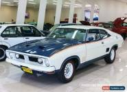 "1975 Ford Falcon XB ""JOHN GOSS SPECIAL"" White & Apollo Blue Automatic 3sp A for Sale"