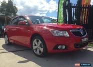 2014 Holden Cruze JH MY14 Equipe Red Manual 5sp M Sedan for Sale