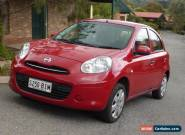NISSAN MICRA ST-L HATCHBACK RED EXC. COND. for Sale