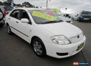 2006 Toyota Corolla ZZE122R Ascent White Automatic 4sp A Sedan for Sale