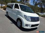2005 Nissan Elgrand Series 2 G E51 White Automatic 5sp A Wagon for Sale