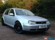 2001 Y REG VOLKSWAGEN GOLF V5 SILVER FSH, LONG MOT, CLEAN CAR, NOT GTI R32 TDI for Sale