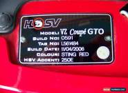 2006 VZ HSV GTO COUPE for Sale