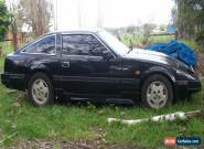 NISSAN 300 ZX 1985 5 SPEED---VERY COOL, ALL BLACK W / FULL BODY KIT....TARGA TOP for Sale