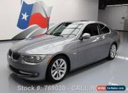 2011 BMW 3-Series Base Coupe 2-Door for Sale